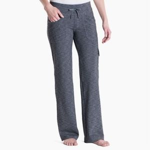 Kuhl Dark Heather Gray Mova Relaxed Fit Pants